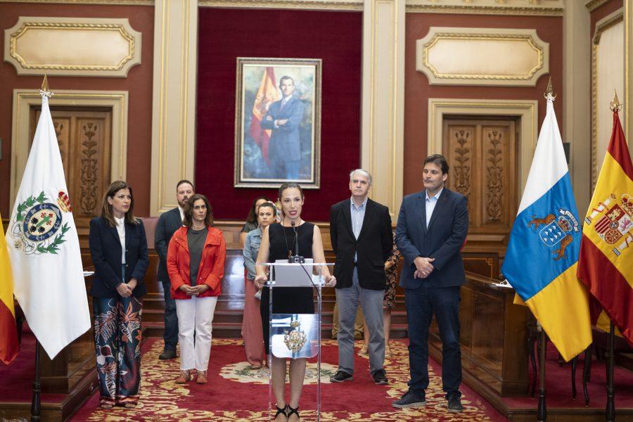 Anuncio acuerdo Las Teresitas   Foto: AYUNTAMIENTO DE SANTA CRUZ DE TENERIFE