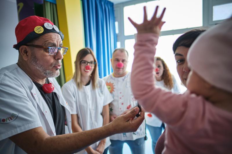 Actividades con niños hospitalizados | Foto: PEQUEÑO VALIENTE