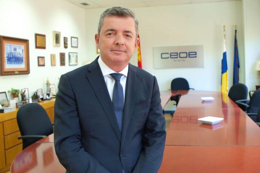 Eduardo Bezares | Foto: CEOE TENERIFE