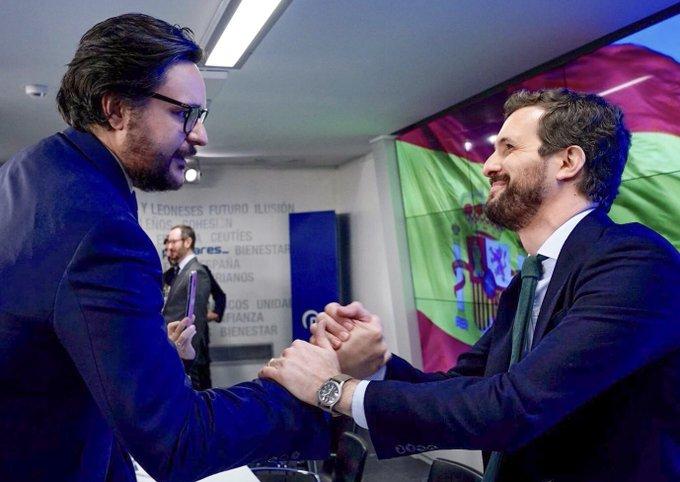 Sergio Ramos y Pablo Casado | Foto: ARCHIVO