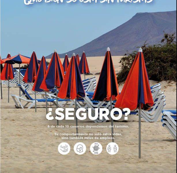 Campaña Consejería de Turismo del Gobierno de Canarias