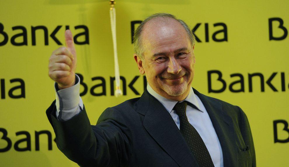 Rodrigo Rato en la salida a bolsa de Bankia | Foto: ARCHIVO TVE