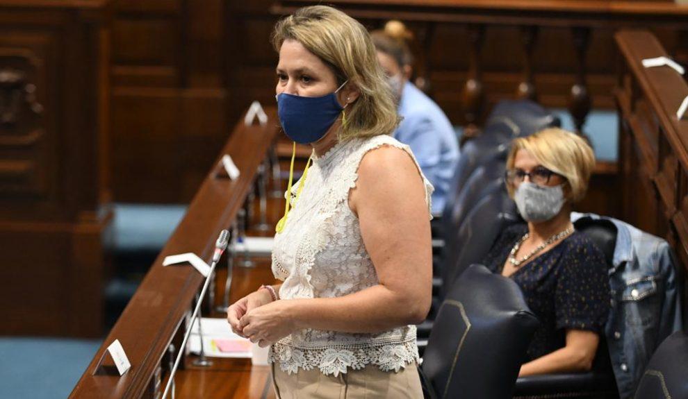 Alicia Vanoostende | Foto: CONSEJERÍA DE AGRICULTURA, GANADERÍA Y PESCA DEL GOBIERNO DE CANARIAS