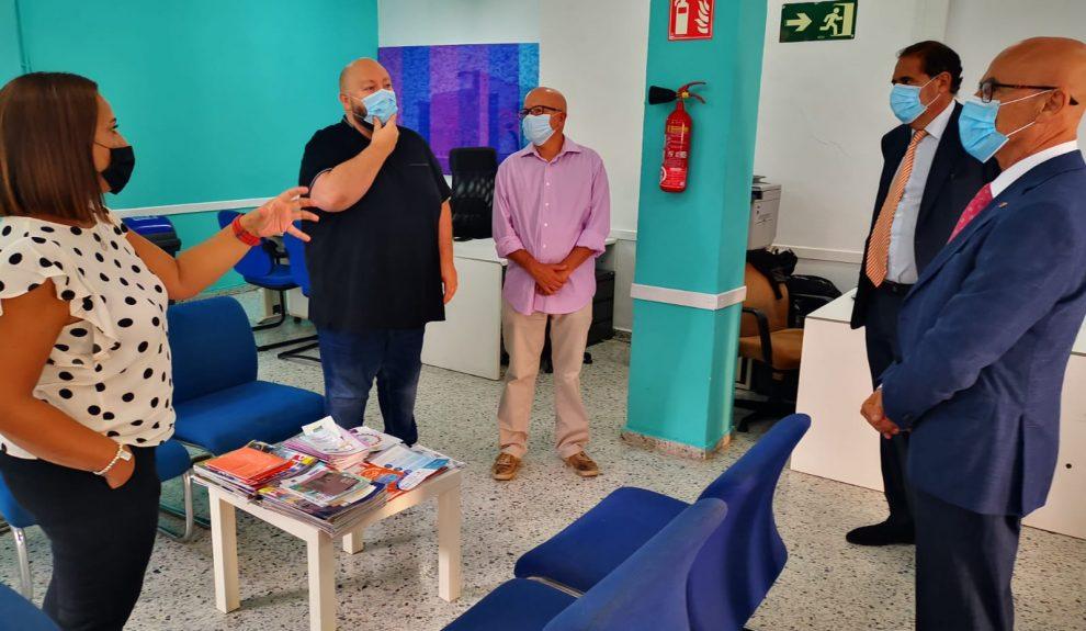 Asociación de Personas Sordas de Gran Canaria reunidas con el Diputado del Común | Foto: GABINETE DIPUTADO DEL COMÚN