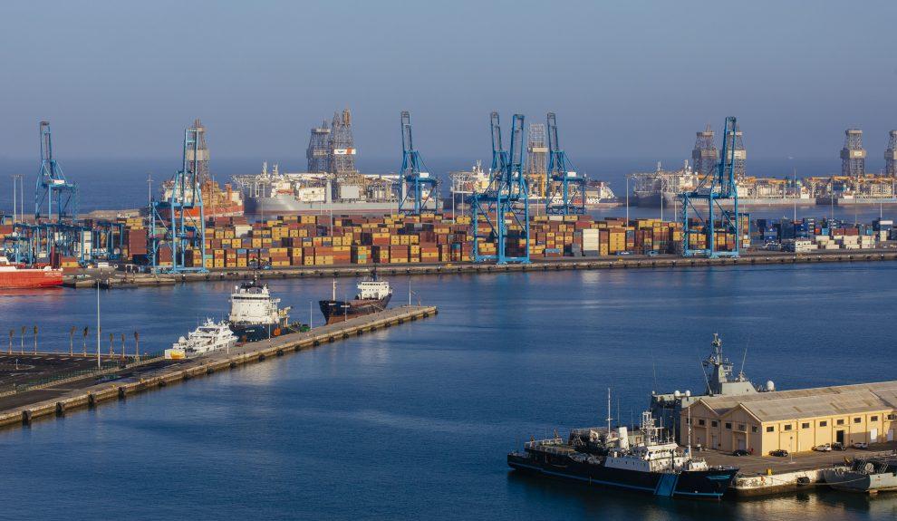 Transporte de Mercancías en el Puerto de Las Palmas | Foto: ARCHIVO