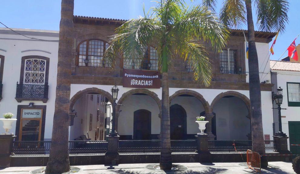Ayuntamiento de Santa Cruz de La Palma   Foto: AYUNTAMIENTO SANTA CRUZ DE LA PALMA