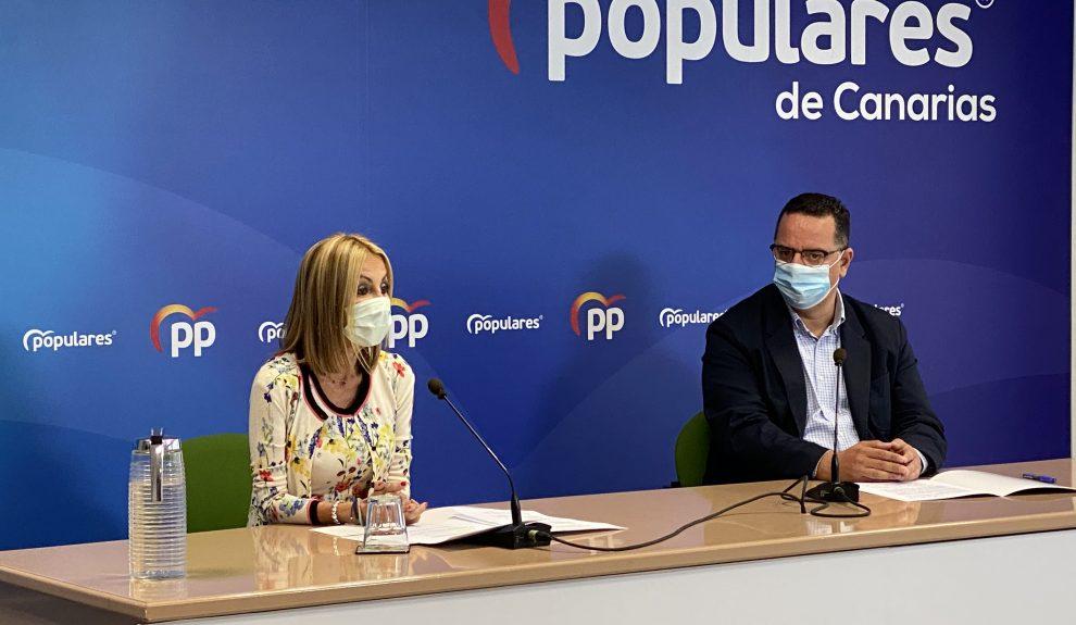 Australia Navarro y Poli Suárez | Foto: PP