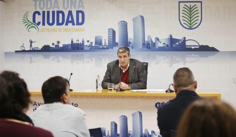 Javier Doreste | Foto: AYUNTAMIENTO DE LAS PALMAS DE GRAN CANARIA