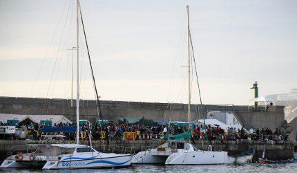 Situación del Muelle de Arguineguín a 12 de noviembre   Foto: AYUNTAMIENTO DE MOGÁN