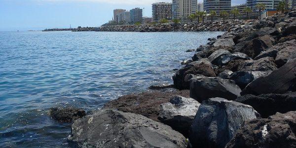 Vista desde el puerto de Las Palmas de Gran Canaria