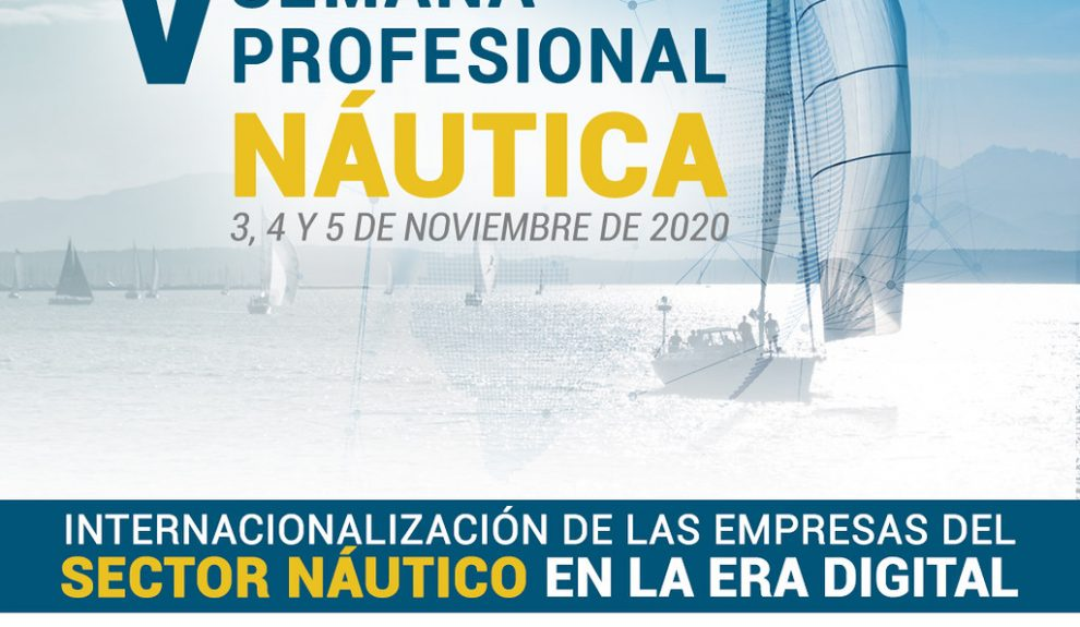 Cartel 5ª Semana Profesional Náutica