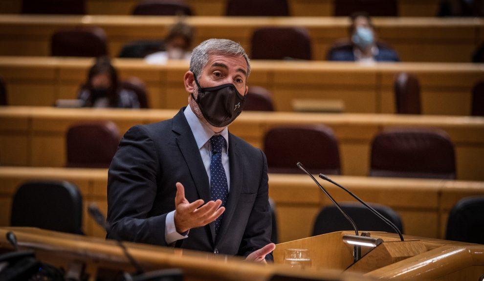Fernando Clavijo en el Senado el pasado septiembre | COALICIÓN CANARIA