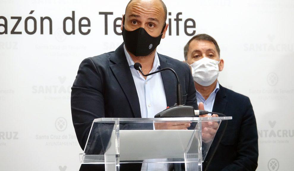 Alfonso Cabello el pasado febrero | AYUNTAMIENTO DE SANTA CRUZ DE TENERIFE
