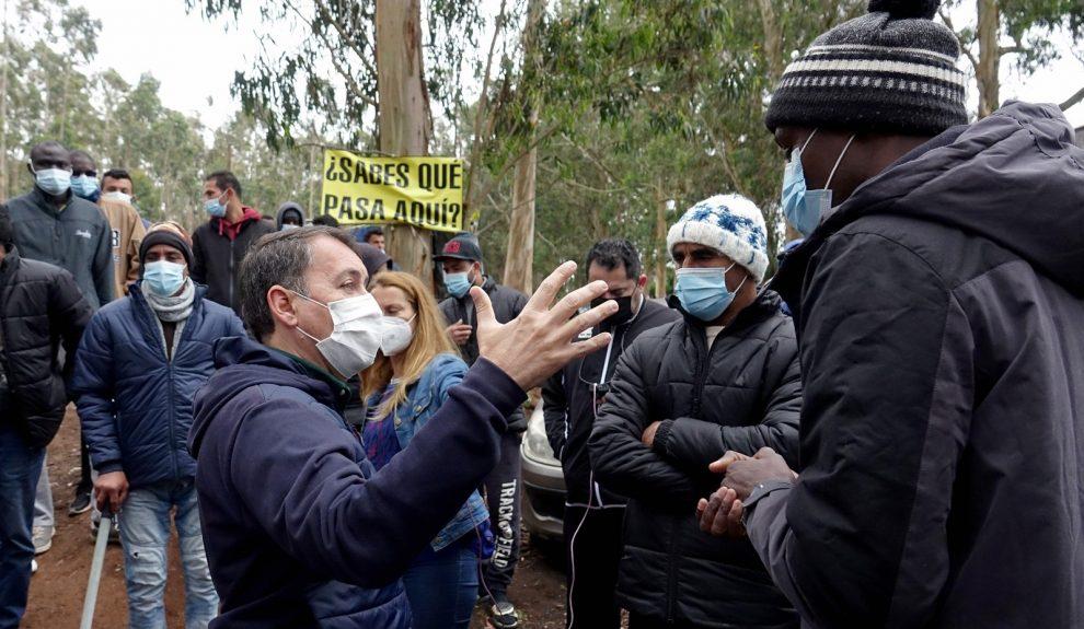 José Manuel Bermúdez en Las Raíces el pasado 21 de marzo   AYUNTAMIENTO DE SANTA CRUZ DE TENERIFE