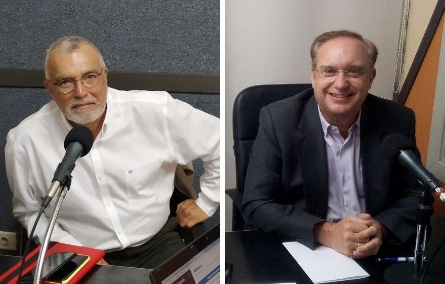 Gustavo Armas (izq.) y José Julian Isturitz (dcha.) | EL ESPEJO CANARIO