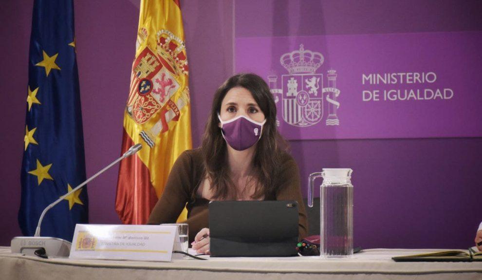 Irene Montero | MINISTERIO DE IGUALDAD