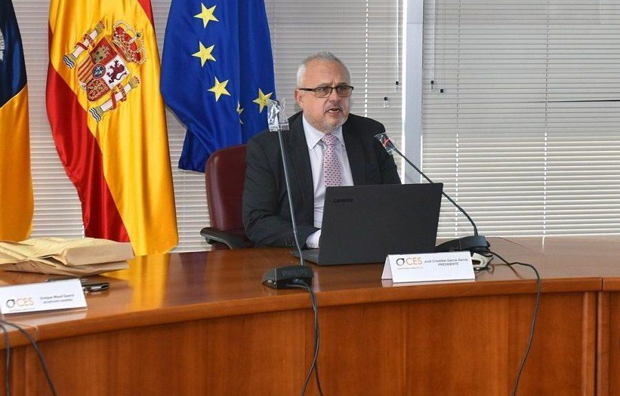 José Cristóbal García el pasado diciembre   CONFEDERACIÓN CANARIA DE EMPRESARIOS