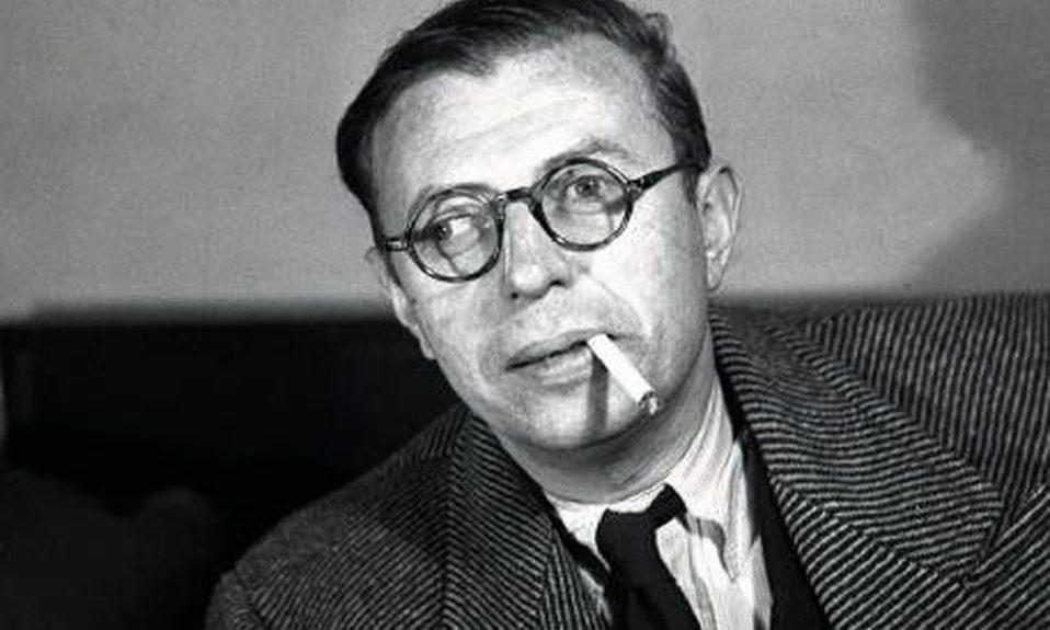 Jean Paul Sartre fumando | TVE