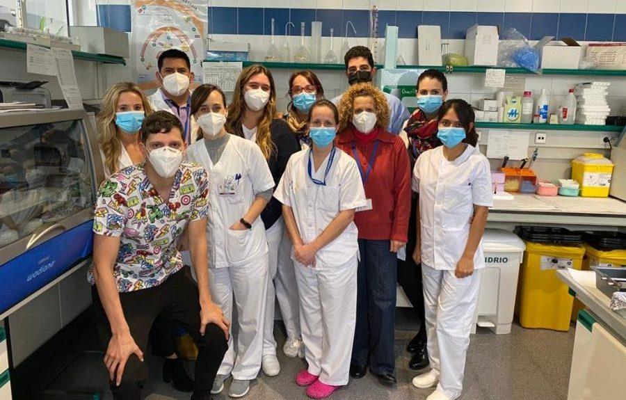 Personal de laboratorio y rastreo del área de salud de El Hierro | CONSEJERÍA DE SANIDAD DEL GOBIERNO DE CANARIAS