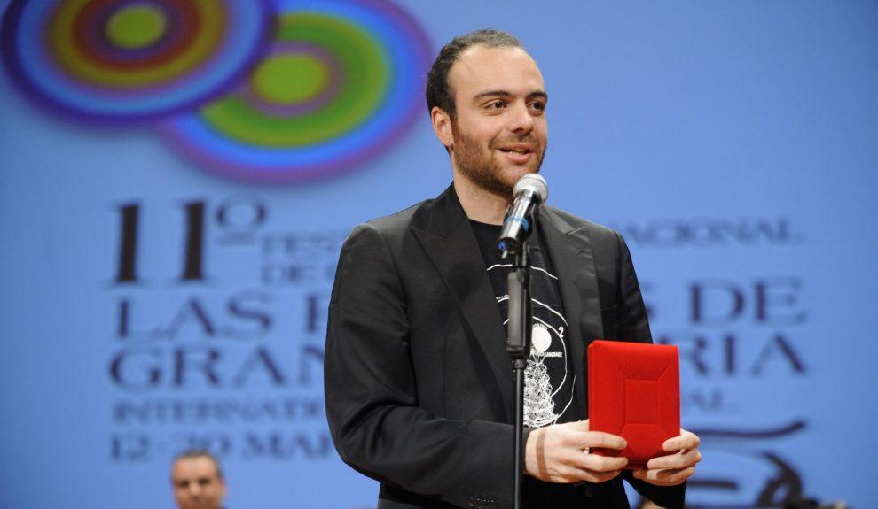 Víctor Moreno en la clausura de la edición de 2009   LPA FILM FESTIVAL