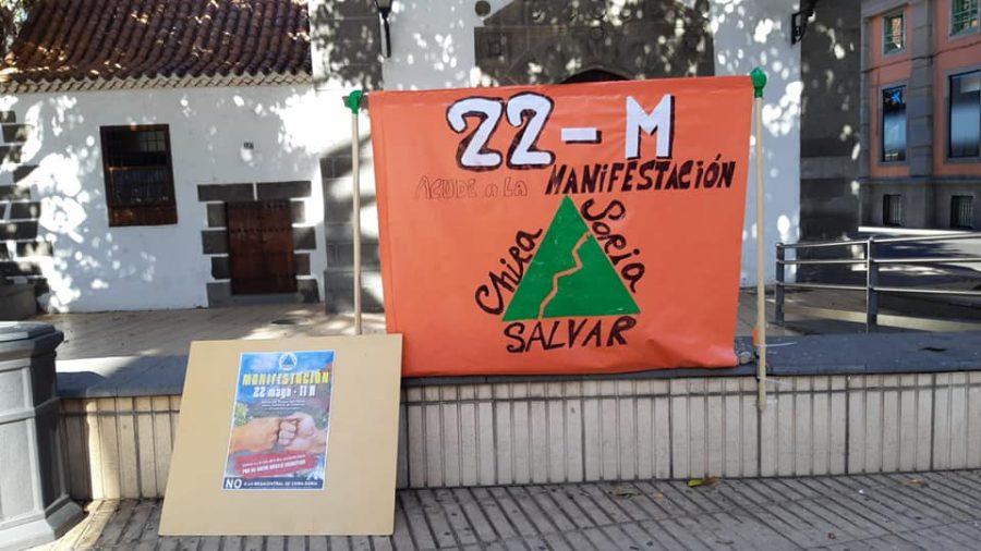Convocatoria de la manifestación a principios de abril | SALVAR CHIRA-SORIA