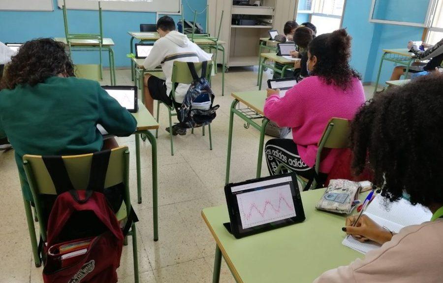Alumnado en un aula de instituto | CONSEJERÍA DE EDUCACIÓN DEL GOBIERNO DE CANARIAS