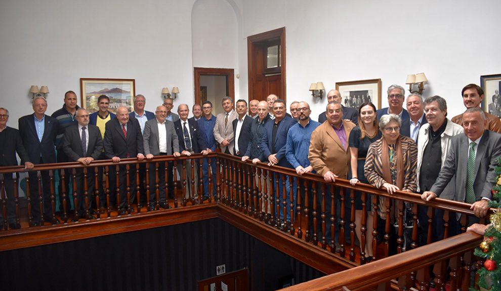 Reunión de la asociación con autoridades en enero de 2020 | ACCOMAR