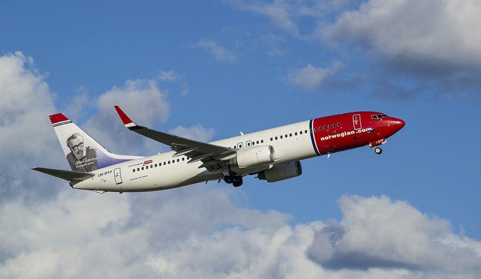 Avión de Norwegian | PIXABAY