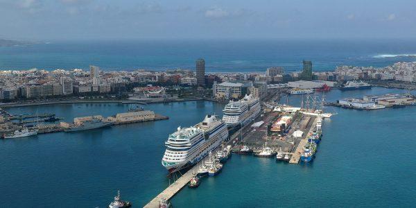 Cruceros en el puerto de la capital grancanaria | AUTORIDAD PORTUARIA DE LAS PALMAS