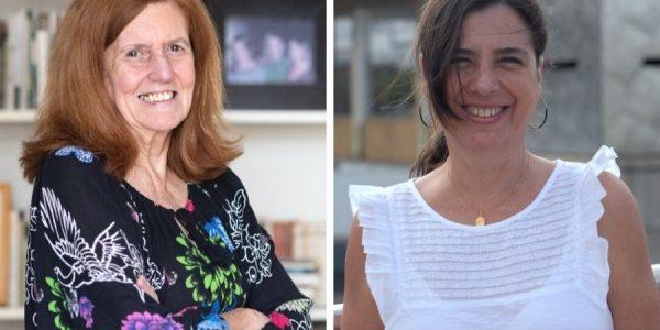 Cecilia Domínguez (izq.) y Silvia Rodríguez (Foto: Nieves Delgado)