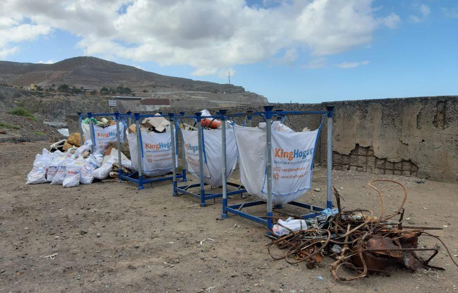 Resultado de la recogida de residuos del pasado sábado   EMALSA