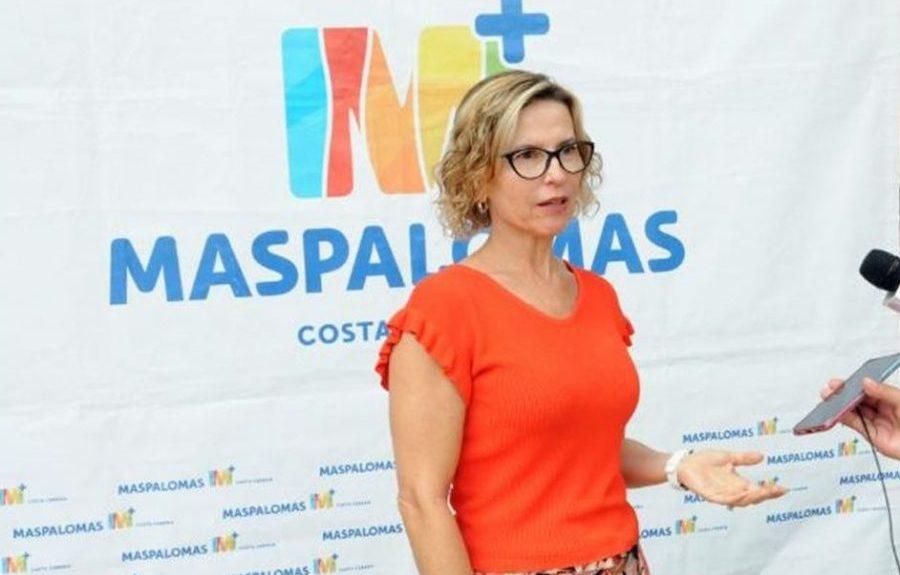 Conchi Narváez el pasado junio   AYUNTAMIENTO DE SAN BARTOLOMÉ DE TIRAJANA