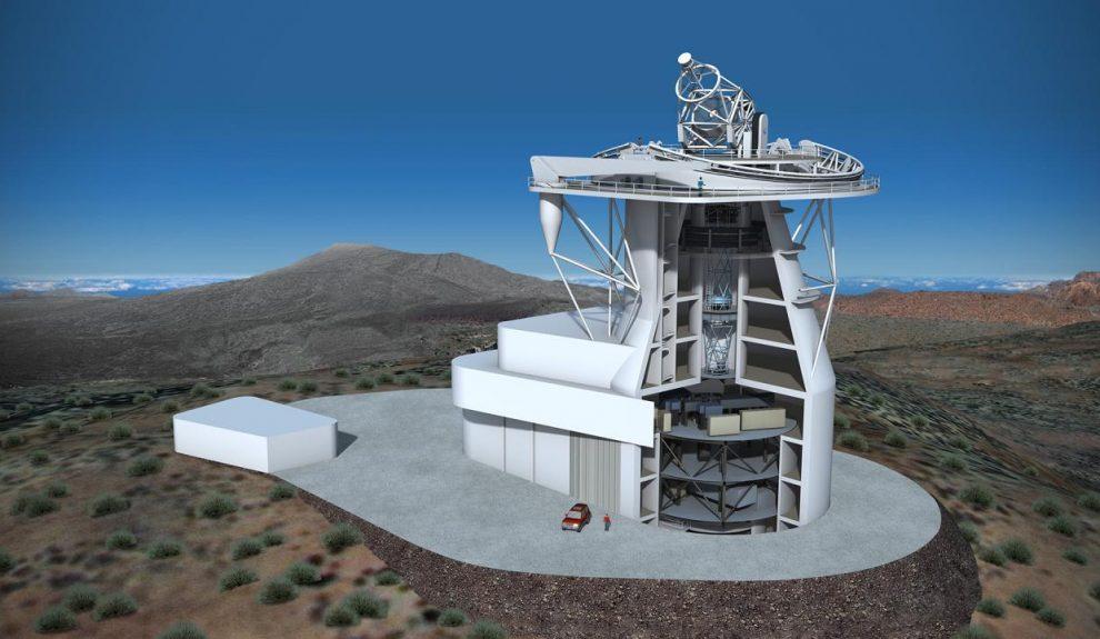 Infografía del telescopio solar europeo | GABRIEL PÉREZ DÍAZ-IAC