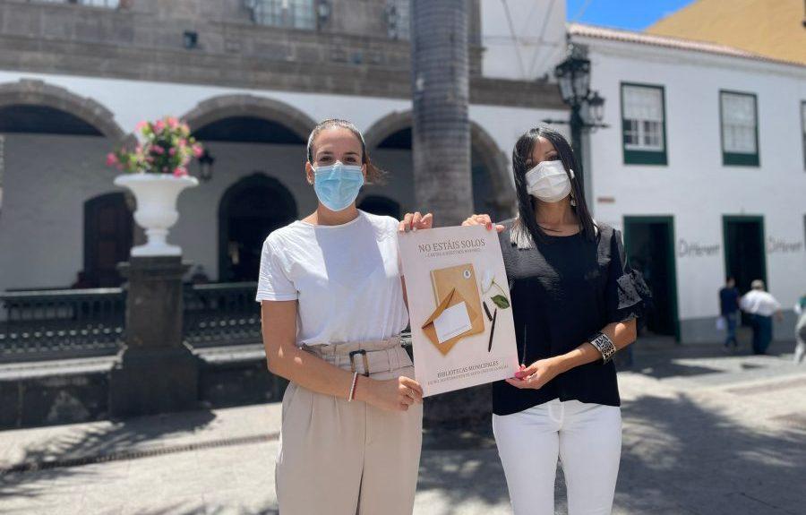 Melissa Hernández (izq.) presentando el proyecto | AYUNTAMIENTO DE SANTA CRUZ DE LA PALMA