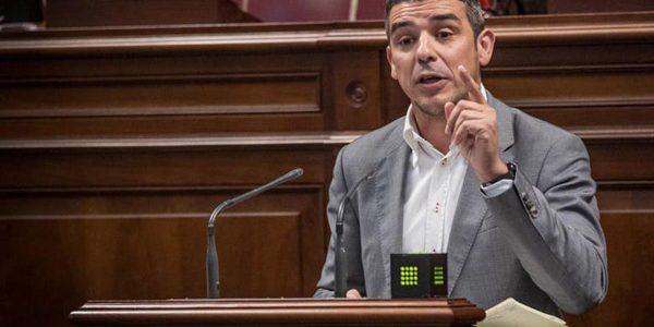 Narvay Quintero en el Parlamento de Canarias el pasado junio | GRUPO NACIONALISTA CANARIO