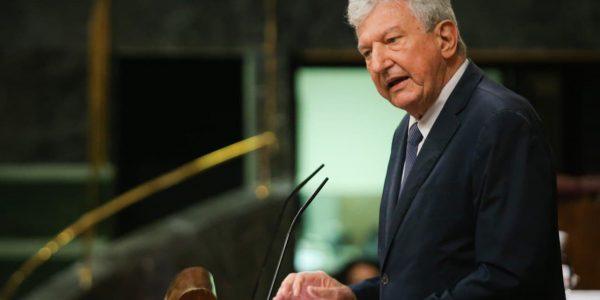 Pedro Quevedo en el Congreso de los Diputados el pasado junio | NUEVA CANARIAS