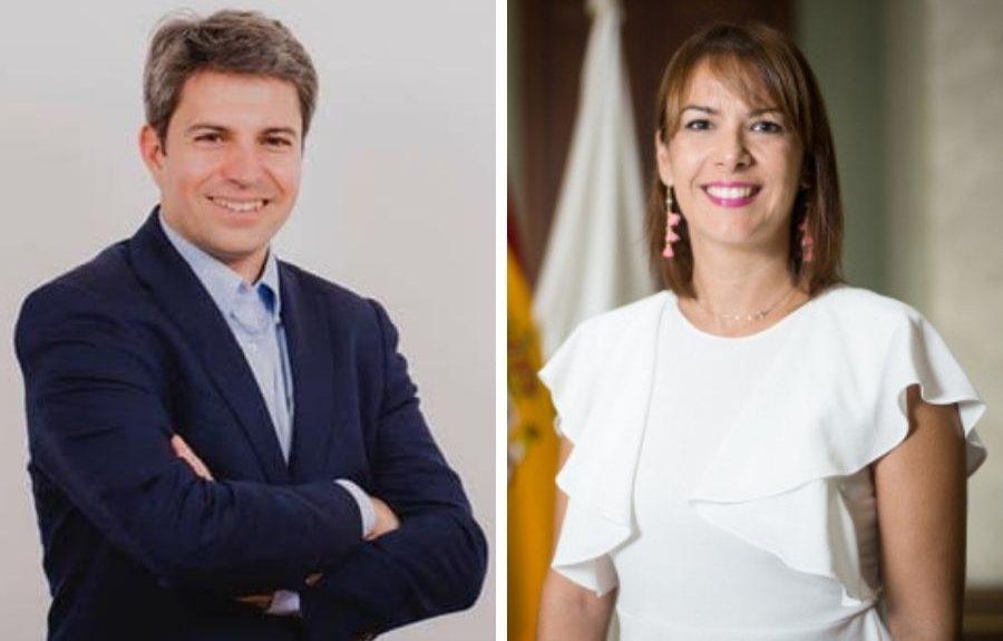 Ruymán Santana y Evelyn Alonso   EL ESPEJO CANARIO