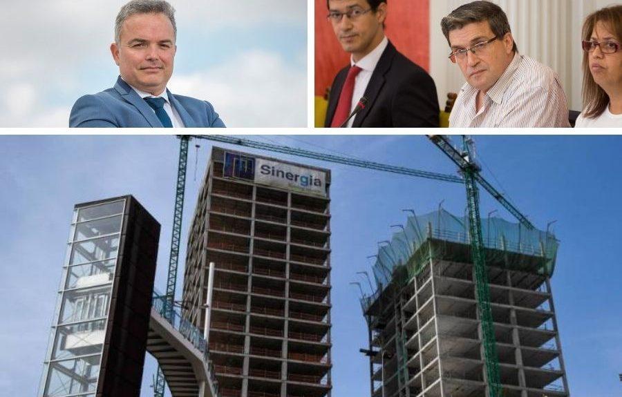 Yeray Alvarado, Javier Doreste y las torres del Canódromo   EL ESPEJO CANARIO