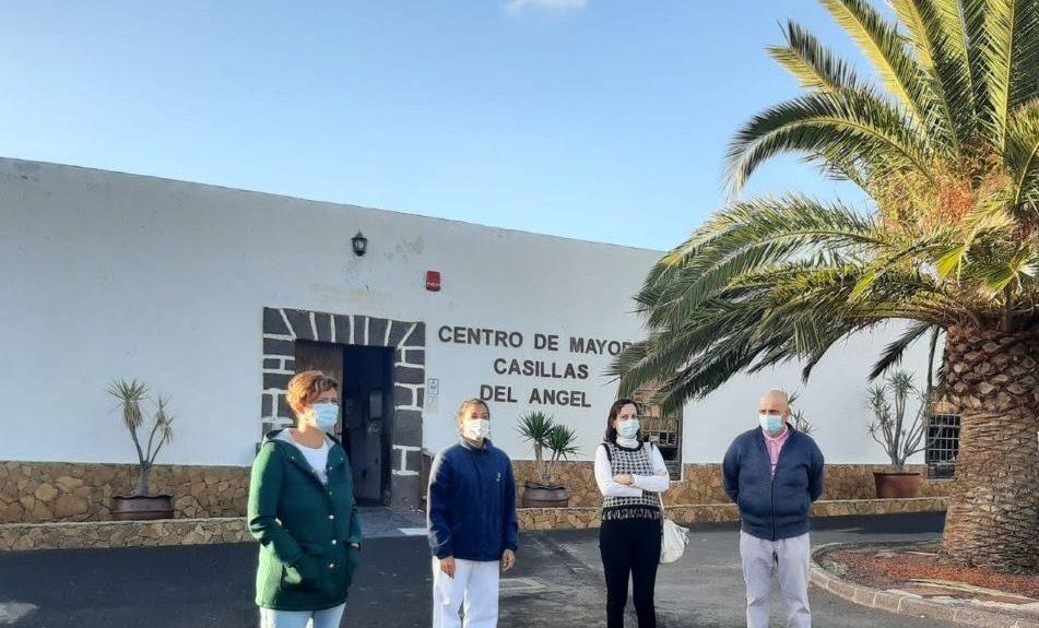 Visita de autoridades al centro el pasado diciembre | CABILDO DE FUERTEVENTURA