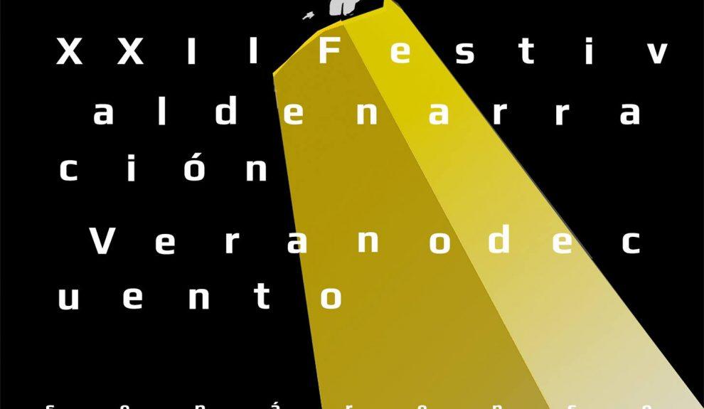 Cartel del festival de este año | FESTIVAL VERANO DE CUENTO