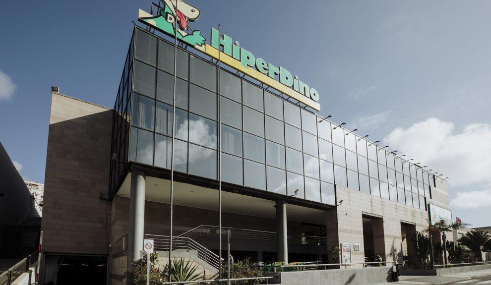 Fachada de las oficinas centrales de Hiperdino | GRUPO DINOSOL