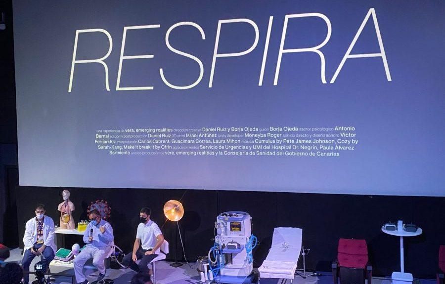 Presentación de la experiencia en el Museo Elder el pasado 31 de agosto   CONSEJERÍA DE SANIDAD DEL GOBIERNO DE CANARIAS