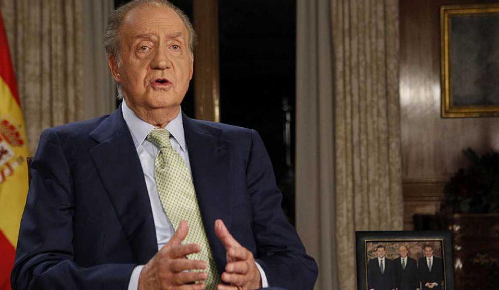 Juan Carlos I en un discurso de Navidad | ARCHIVO