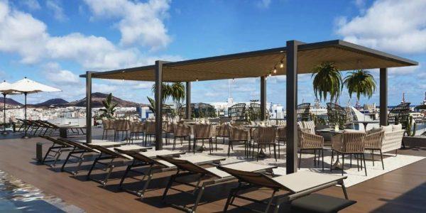 Terraza del hotel Lumm   HOTELES THE