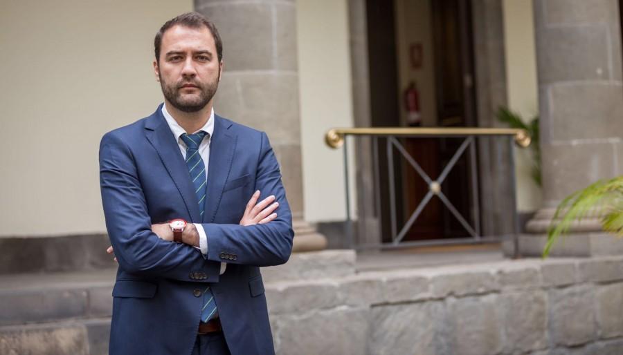 Gabriel Corujo, delegado de la Zona Franca Gran Canaria