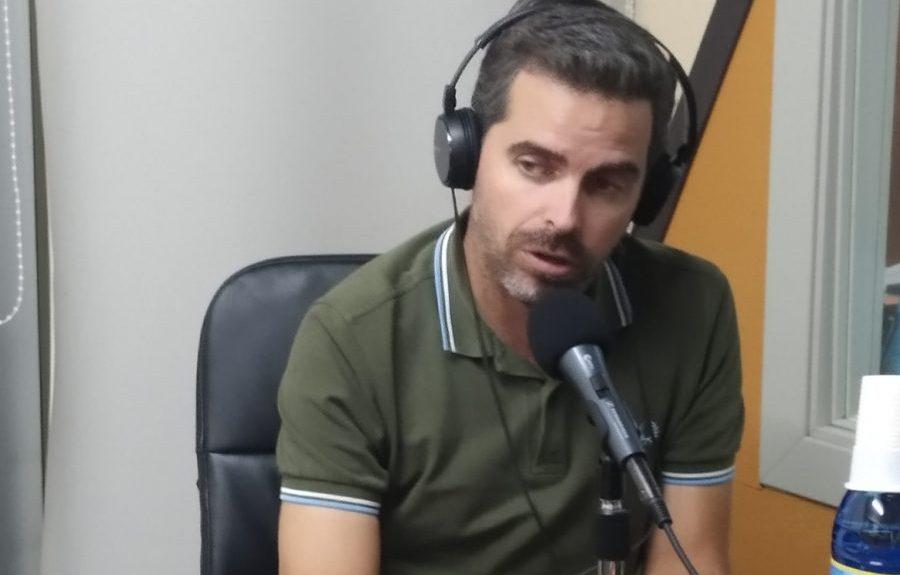 Lucas Bravo de Laguna en nuestros estudios hoy   EL ESPEJO CANARIO