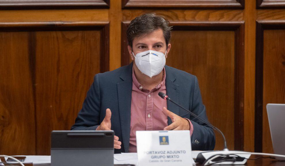 Ruymán Santana, consejero de Ciudadanos en el Cabildo de Gran Canaria| Foto: Cabildo de Gran Canaria