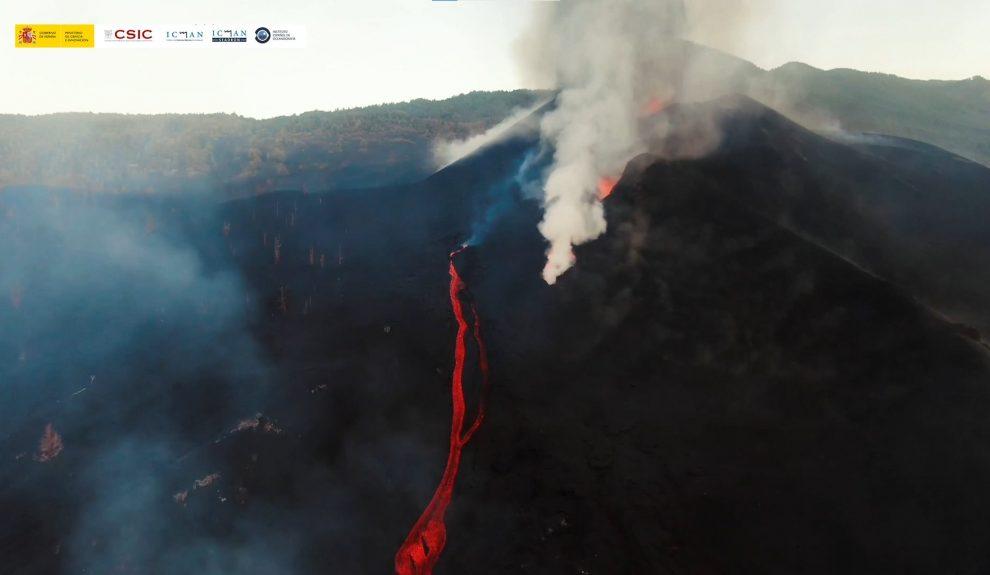 Volcán de La Palma | Foto: CSIC
