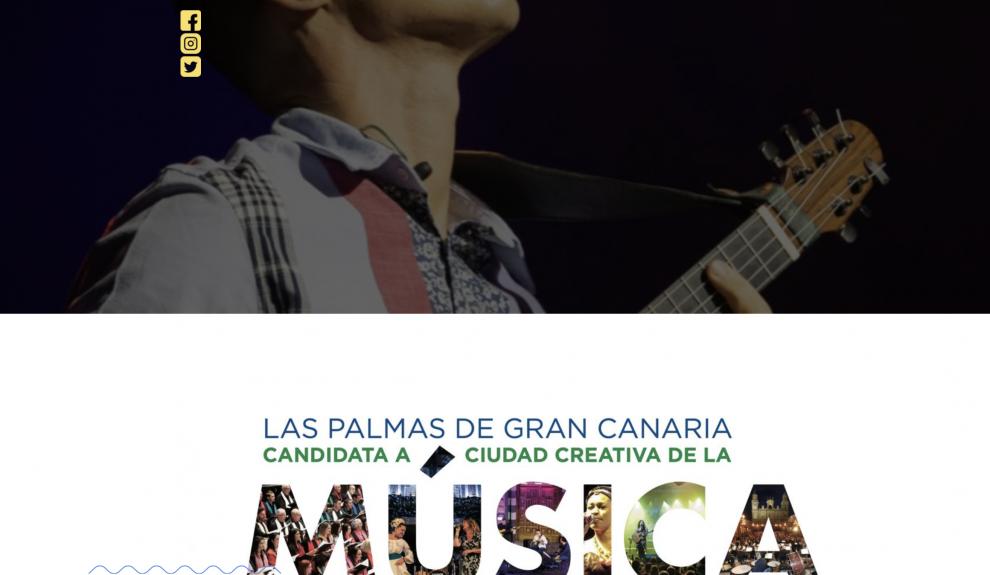 Las Palmas de Gran Canaria, candidata a Ciudad Creativa de la Música de la Unesco